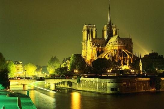париж вечерр